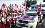 Polda Kalteng Gelar Touring Merah Putih untuk Indonesia