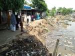 Jalan di Kelurahan Rantau Kujang Longsor