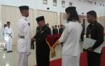 Pj Bupati Sukamara Kukuhkan Anggota Paskibra Sukamara