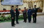Bupati Serahkan Materi LKPj Akhir Masa Jabatan kepada Pimpinan DPRD Barito Utara