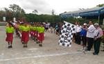 Panitia HUT Kemerdekaan Gelar Lomba Gerak Jalan Pelajar