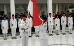 44 Anggota Paskibra Kabupaten Barito Utara Dikukuhkan