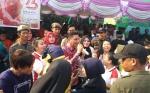 Bupati Kotim Nyanyi dan Berjoget Bersama Warga Binaan Lapas Sampit