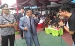 Wakil Gubernur Kalteng Bernyanyi Bersama Warga Binaan RutanPalangka Raya