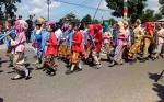 Pawai Pembangunan HUT Kemerdekaan RI di Sukamara Berlangsung Meriah