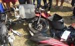 Motor vs Mobil Tabrakan di Jalan Adonis Samad, Satu Orang Tewas