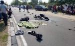 Begini Kronologis Kecelakaan Maut di Jalan Adonis Samad