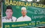 Ustad Normuslim Bakal Jadi Khatib Salat Idul Adha di Lapangan Gagah Lurus Kasongan