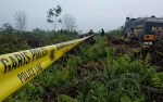 Polsek Ketapang Identifikasi Kebakaran Lahan Satu Hektare di Tengah Perkebunan