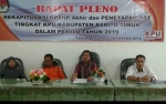 Ini Jumlah DPT Pemilu Legislatif 2019 di Barito Timur