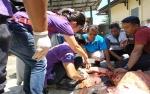 Petugas di Barito Utara Awasi Lokasi Pemotongan Hewan Kurban