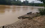 Sungai Kahayan Semakin Surut