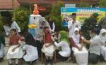 Imunisasi Measles Rubella Berlanjut, Dinas Kesehatan Sukamara Minta Masyarakat Tidak Termakan Isu
