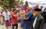 Tim Citra Borneo Indah Group Salurkan Bantuan di 6 Titik Gempa di Lombok Tengah