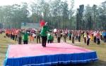 Bupati Kotawaringin Barat Meriahkan Tari Gemu Famire dalam Rangka HUT TNI