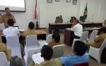 Pemkab Gunung Mas Gelar Rapat Evaluasi Program Kampung KB