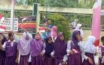 Pawai Keliling Eko Rimbawan dan Lucki Purkani Bentuk Kegembiraan Warga Sukamara