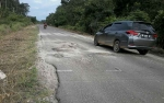 Penyebab Kerusakan Jalan Kasongan - Pendahara Didominasi Angkutan Sawit