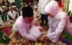 Gubernur Kalteng Gelar Tasmiyah Dan Aqiqah Anak Perempuannya