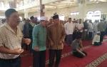 Warga Berdatangan Melayat Imam Masjid Jami Sampit yang Meninggal Dunia di Rakaat Kedua Sholat Jumat