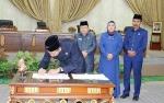 Pemkab Barito Utara dan DPRD Tandatangani Kesepakan KUPA dan PPAS