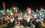 Ribuan Jamaah Kobar Bersholawat Padati Stadion Sampuraga