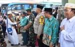 Jemaah Haji Kloter 12 Kapuas Kembali ke Kota Air