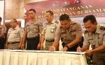Kepala BPN dan Kapolres se-Kalimantan Tengah Sepakat Berantas Mafia Tanah