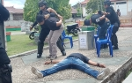 Polisi di Barito SelatanTembak 3 Perampas Logistik Kotak Suara Pemilu 2019