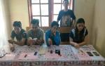 Anggota Polsek Baamang Ringkus Empat Tersangka Sabu