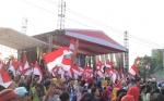 Bendera Merah Putih Warnai HUT ke-11 Dewan Adat Dayak Kalteng