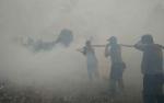 Luas Lahan Terbakar di Jalan MT Haryono Barat Diperkirakan Capai 5 Hektare