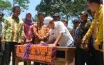 Bupati Kapuas Resmikan GOR di Desa Budi Mufakat