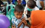 Imunisasi MR di Barito Utara Capai 75% Dari Target