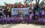 Disarpustaka Bersama TK Al Abror Kapuas Gelar Outbond Literasi