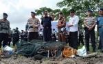 Ditpolair Polda Kalteng Musnahkan Alat Tangkap Ikan Tidak Ramah Lingkungan