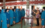 Pengurus PKK dan GOW Kabupaten Kapuas Resmi Dilantik