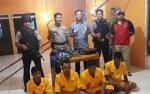 Anggota Polsek Karau Kuala Ringkus Kawanan Pencuri Sarang Walet