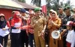 Bupati Seruyan Resmikan Kampung Merah Putih di Desa Halimaung Jaya
