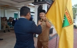 Eddy Raya Samsuri Lepas Kontingen Porprov Barito Selatan