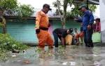 Hujan Deras, Sejumlah Lokasi Dalam Kota Pangkalan Bun Tergenang Air