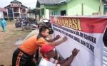 Polsek Katingan Kuala Gelar Deklarasi Pemilu Damai