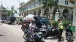 Anggota Satlantas Polres Katingan Lakukan Pengamanan Salat Jumat