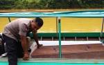 Jajaran Polsek Kapuas Hulu Bantu Proses Pemulangan Jenazah Warga Desa Sei Pinang