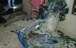 Ini Penyebab Sepeda Motor Tabrak Rumah Warga di Anjir Pulang Pisau