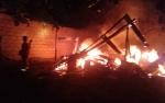Rumah Tukang Pijat Hangus Terbakar Saat Ditinggal Bekerja