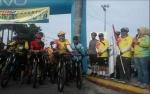 Ratusan Pesepeda Dari Berbagai Daerah Ikuti Kobar Fun Bike Adventure