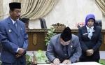 Pemkab Dan DPRD Tandatangani Nota Kesepakatan KUA PPAS
