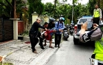 Kecelakaan Tunggal Terjadi di Jalan Ramin I