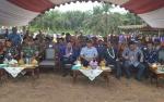 Bupati dan Wabup Lamandau Kunjungan Kerja ke Sematu Jaya